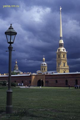 The Peter and Paul's Fortress